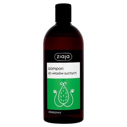 Ziaja Szampon do włosów suchych aloesowy 500 ml