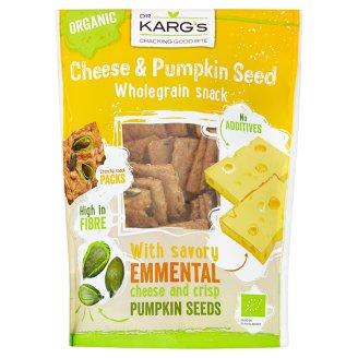 Dr. Karg's Ekologiczne pieczywo chrupkie z serem ementaler oraz pestkami dyni 110 g