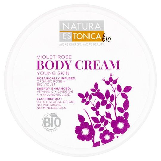 Natura Estonica Bio Body Cream Young Skin Violet Rose 300 ml