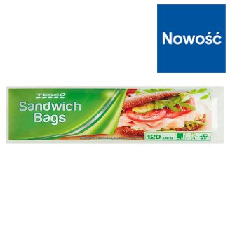 Tesco Sandwich Bags 120 Pieces