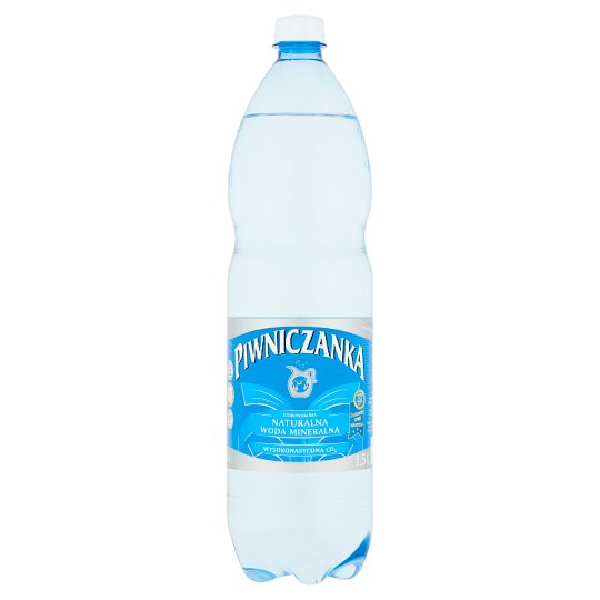 Piwniczanka High Sparkling Natural Mineral Water 1.5 L