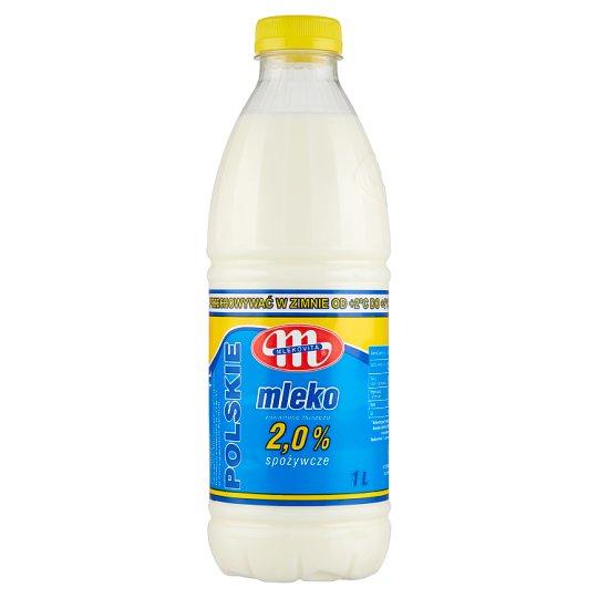 Mlekovita Polish Grocery Milk 2.0% 1 L
