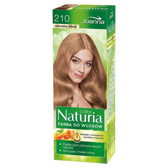Joanna Naturia color Hair Dye Natural Blond 210