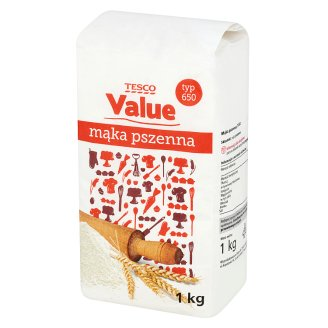 Tesco Value Mąka pszenna typ 650 1 kg