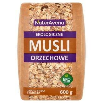 NaturAvena Ekologiczne musli orzechowe 600 g