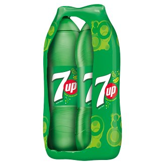 7UP Carbonated Drink 2 x 2 L