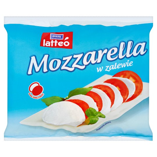 OSM Grodzisk Mazowiecki latteó Mozzarella Cheese in Brine 230 g