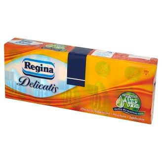 Regina Delicatis Aloe Vera Chusteczki higieniczne 10 x 9 sztuk
