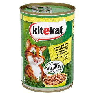 Kitekat Complete Food for Adult Cats with Chicken in Sauce 400 g