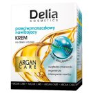 Delia Cosmetics Argan Care Przeciwzmarszczkowy nawilżający krem na dzień i na noc 50 ml