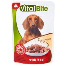 VitalBite Pet Food for Dogs with Beef in Gravy 85 g