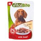 VitalBite Karma dla psów z wołowiną w sosie 85 g