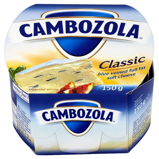 Blue Veined Full Fat Soft Cheese Cambozola Classic 150 g