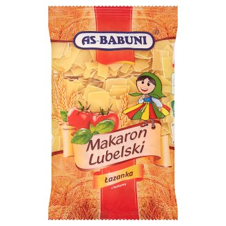 As-Babuni Squares with Turmeric Lubelski Pasta 400 g
