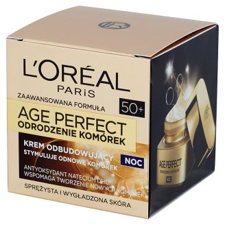 L'Oreal Paris Age Perfect Rebirth of Cells 50+ Rebuilding Night Cream 50 ml