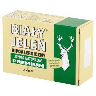 Biały Jeleń Hypoallergenic Natural Soap Premium with Linen 100 g