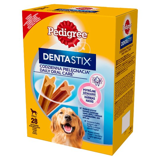 Pedigree DentaStix 25 kg+ Supplementary Dog Food 1080 g (4 x 270 g)