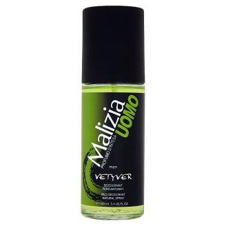 Malizia Uomo Vetyver Deodorant Natural Spray 100 ml