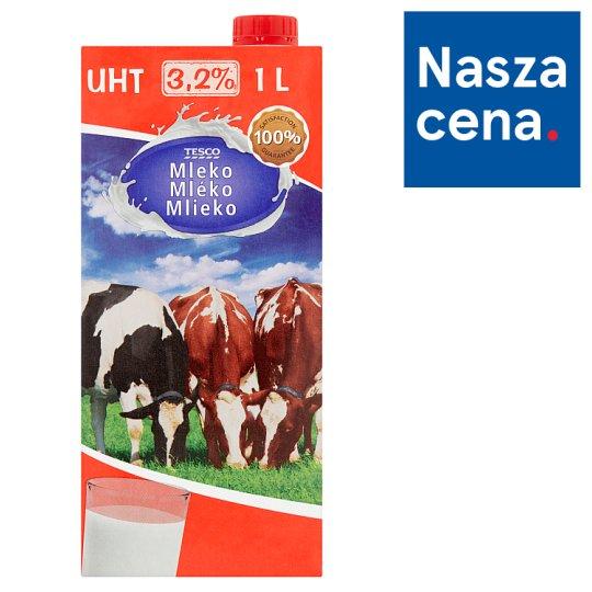 Tesco Mleko UHT 3,2% 1 l