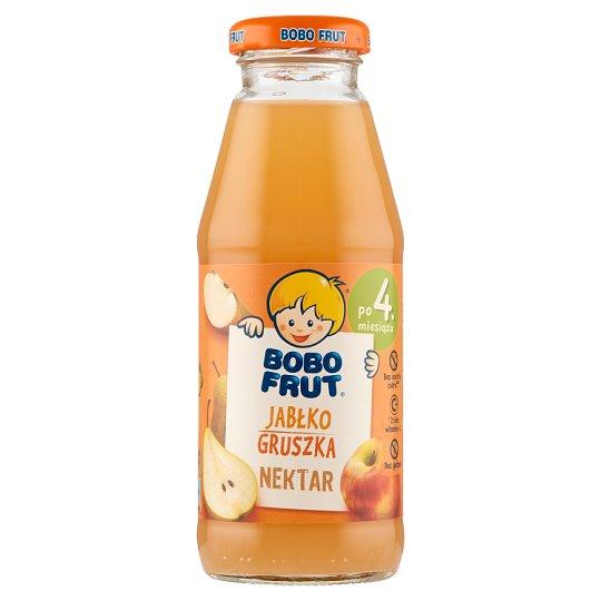Bobo Frut Nektar jabłko i gruszka po 4 miesiącu 300 ml