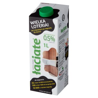 Łaciate UHT Milk 0.5% Fat 1 L
