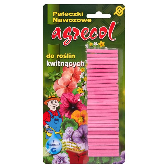 Agrecol Pałeczki nawozowe do roślin kwitnących 32 g