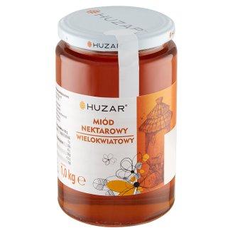 Huzar Miód pszczeli nektarowy wielokwiatowy 1 kg