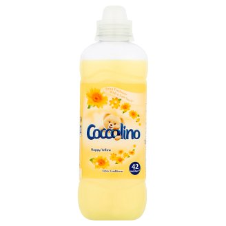Coccolino Happy Yellow Concentrated Fabric Conditioner 1050 ml (42 Washes)