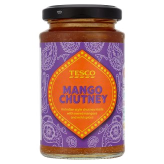 Tesco Indian Style Chutney Made with Sweet Mangoes and Mild Spices 230 g
