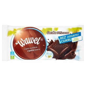 Wawel 70% Cocoa Sugar Free Dark Chocolate 100 g