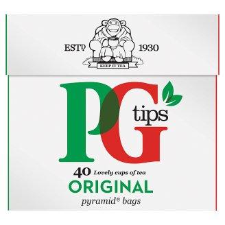PG Tips Herbata czarna ekspresowa 116 g (40 torebek)
