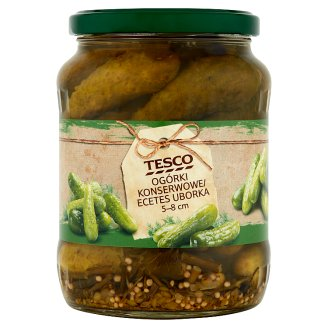 Tesco 5-8 cm Pickles 670 g
