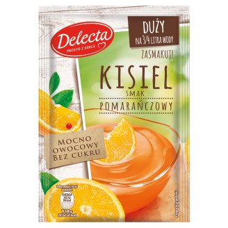 Delecta Orange Flavoured Soft Jelly 58 g