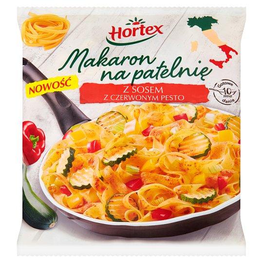 Hortex Makaron na patelnię z sosem z czerwonym pesto 450 g