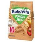 BoboVita Porcja Zbóż Kaszka mleczno-ryżowa z chrupkami ryżowymi owocowa po 10 miesiącu 210 g