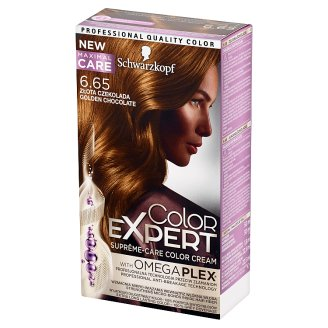 Schwarzkopf Color Expert Hair Colorant Golden Chocolate 6.65