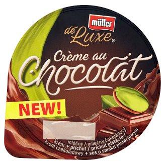 Müller de Luxe Chocolate Cream + Pistachio Flavoured Sauce 150 g