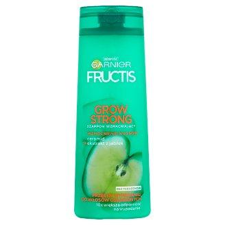 Garnier Fructis Grow Strong Szampon wzmacniający przeciw wypadaniu do włosów osłabionych 400 ml