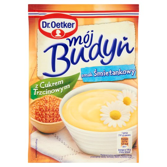 Dr. Oetker Cream Flavoured My Pudding with Sugar Cane 65 g