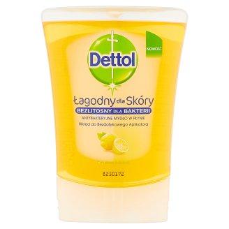 Dettol Antybakteryjne mydło w płynie wkład do bezdotykowego aplikatora cytrusowa świeżość 250 ml