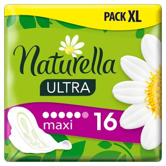 Naturella Sanitary Towels Ultra Maxi Camomile, 16 Pads