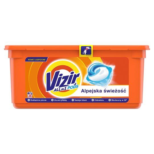 Vizir Alpine Fresh Kapsułki do prania, 28prań