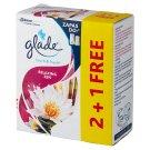 Glade by Brise One Touch Mini Spray Japoński ogród Zapas do odświeżacza powietrza 3 x 10 ml