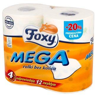 Foxy Mega Toilet Paper 4 Rolls