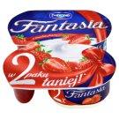 Danone Fantasia Jogurt kremowy z truskawkami 244 g (2 sztuki)