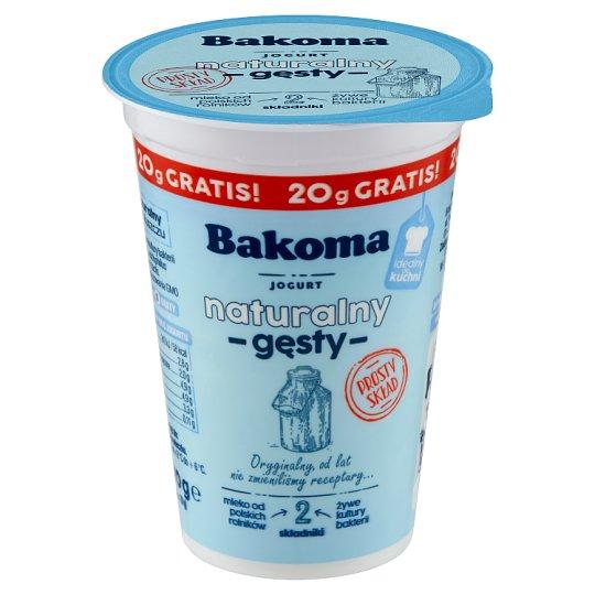 Bakoma Thick Natural Yoghurt 150 g