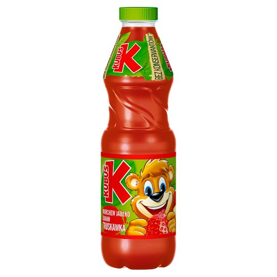Kubuś Carrot Apple Banana and Strawberry Juice 900 ml