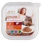 Tesco Pet Specialist Karma dla dorosłych kotów ragout z gęsią wątróbką 100 g