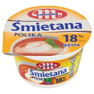 Mlekovita 18% Thick Polish Cream 200 g
