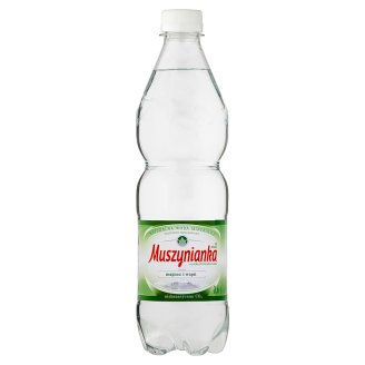 Muszynianka plus High Mineralized Low Sparkling Natural Mineral Water 0.6 L
